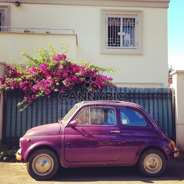 Old Fiat 500 car - Free image #331323