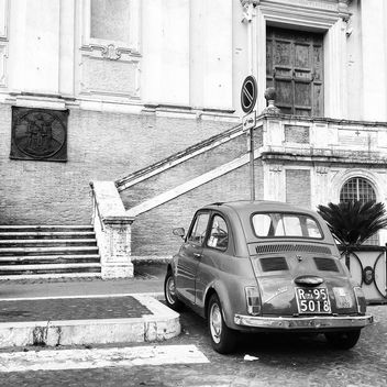 Old Fiat 500 car - Free image #331393