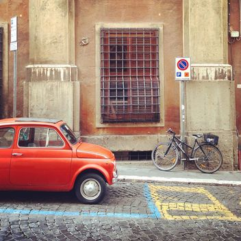 Old Fiat 500 car - Free image #331403