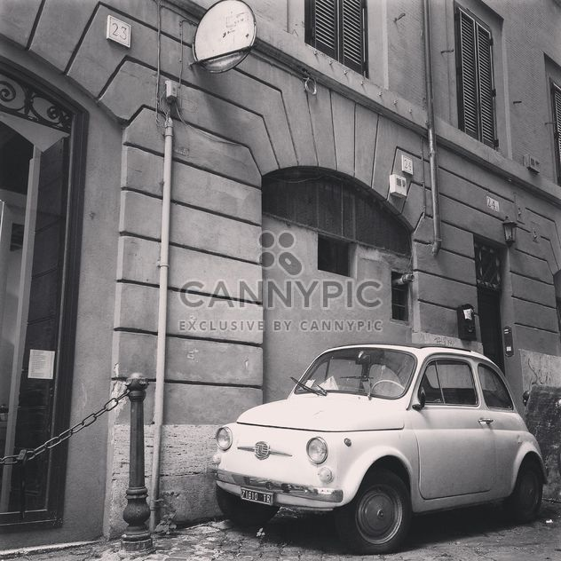 Old Fiat 500 car - Free image #331483