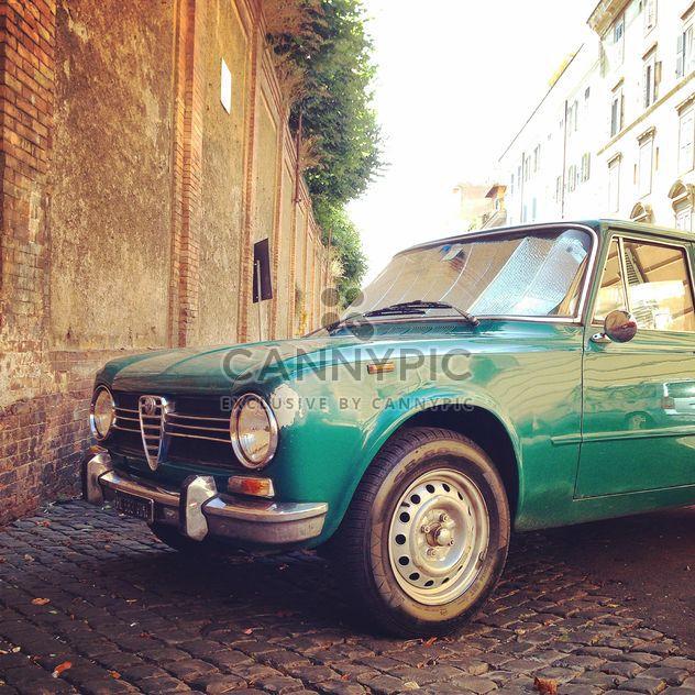Green-Alfa Romeo-Auto - Kostenloses image #331493