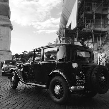 Retro classic car - бесплатный image #331623