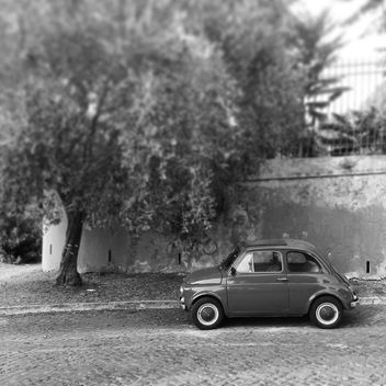 Old Fiat 500 car - Free image #331643