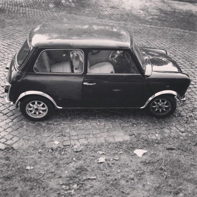 Retro Mini Cooper car - Free image #331653