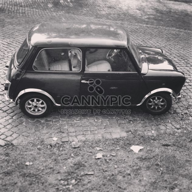 Retro Mini Cooper car - Free image #331653
