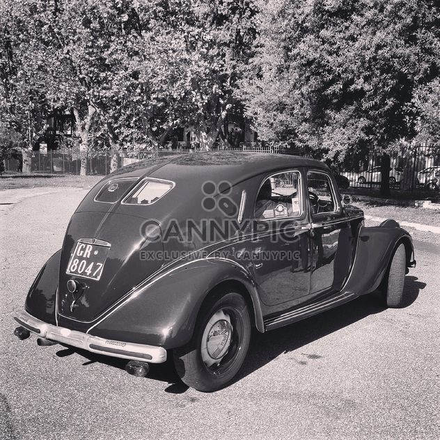 Retro Lancia car - image gratuit #331683