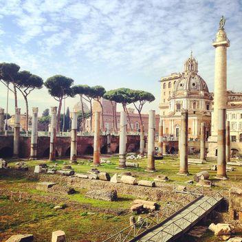 Roman Forum in Rome, Italy - бесплатный image #331793