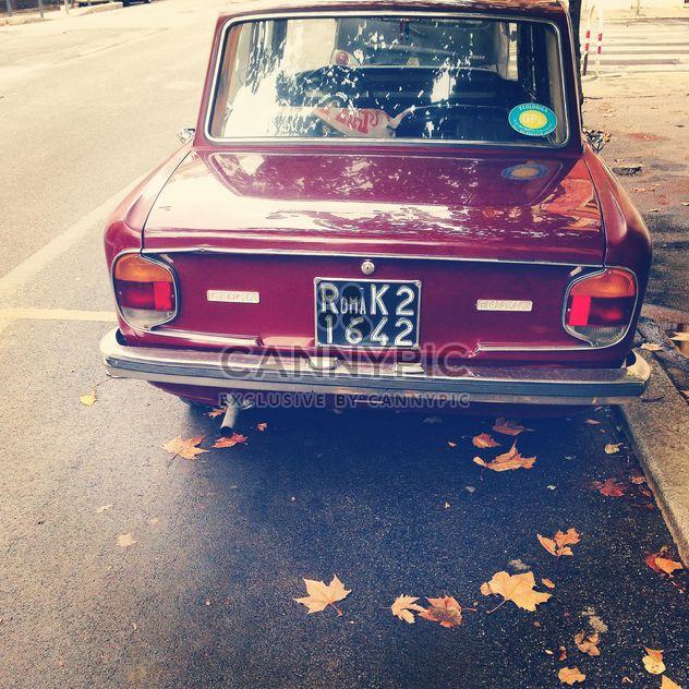 Old Lancia Fulvia car - Free image #331823