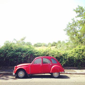 Red Citroen car - бесплатный image #331903