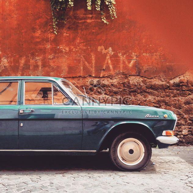 Volga car near building - Free image #332043