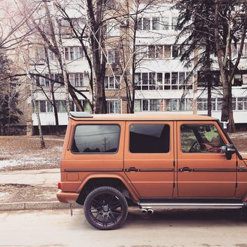 Orange Mercedes Benz Brabus - бесплатный image #332063