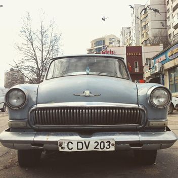 Soviet retro GAZ car - бесплатный image #332083