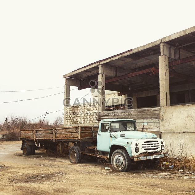 Old Zil truck - Free image #332173