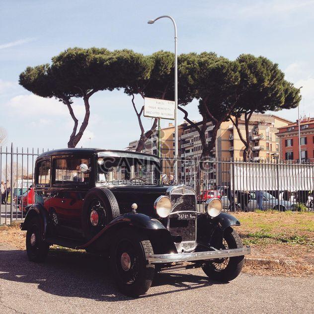 Black Fiat Balilla - image gratuit #332183