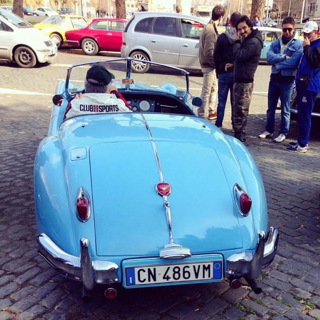 Retro Jaguar ca - Free image #332213
