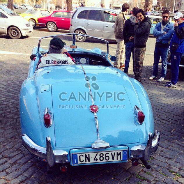 Retro Jaguar ca - Kostenloses image #332213
