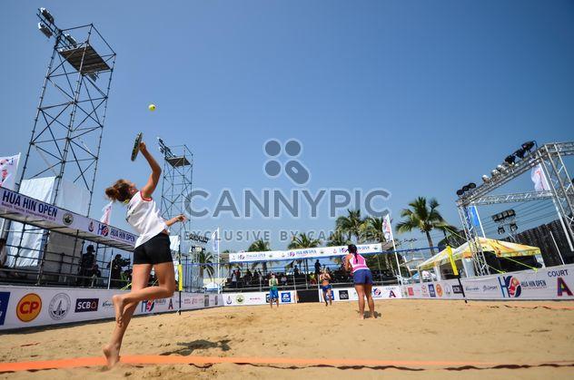 Чемпионат по теннису пляж Хуа Хин - бесплатный image #332943