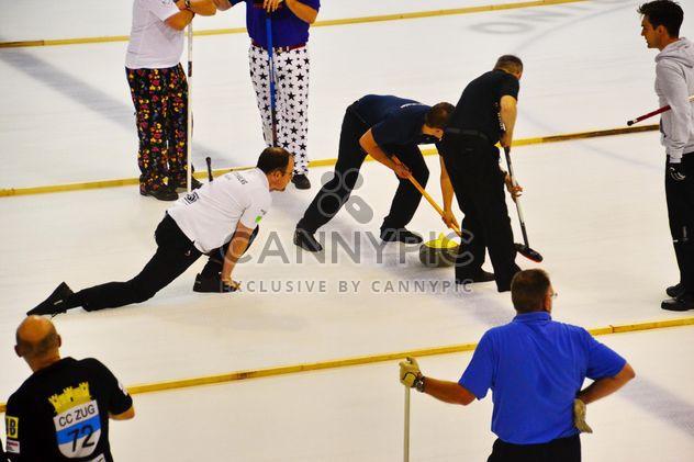 tournoi de sport de curling - image gratuit(e) #333573