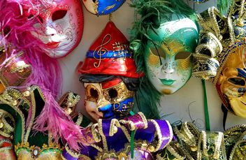 Masks on carnival - image gratuit(e) #333653