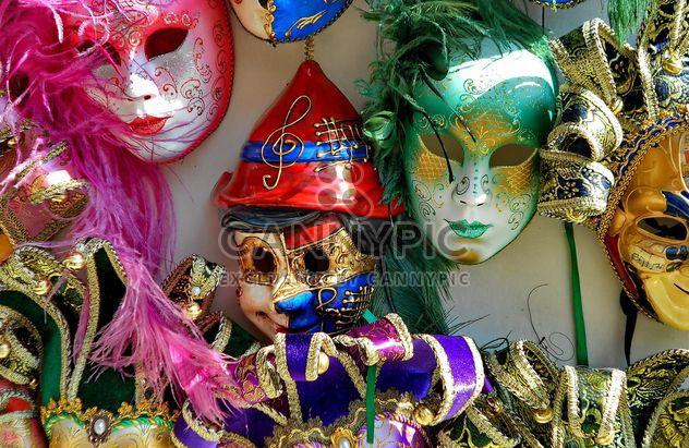 Masks on carnival - Free image #333653