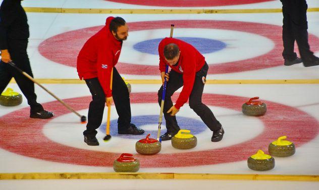curling sport tournament - бесплатный image #333793