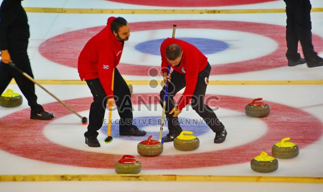 Curling-Sport-Turnier - Free image #333793