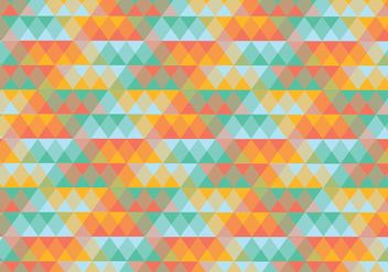 Abstract triangle geometric pattern background - vector #333893 gratis