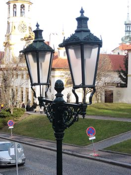 lantern on Prague street - image #334163 gratis