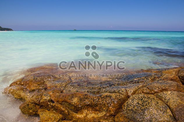 A high-dynamic look to this rocky sea shore - Free image #334243