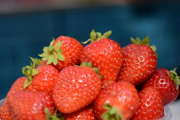 Strawberry texture - image gratuit(e) #334303
