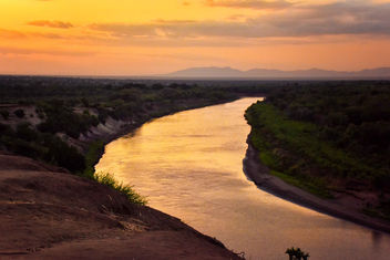 Evening, Omo River, Ethiopia - Free image #334523