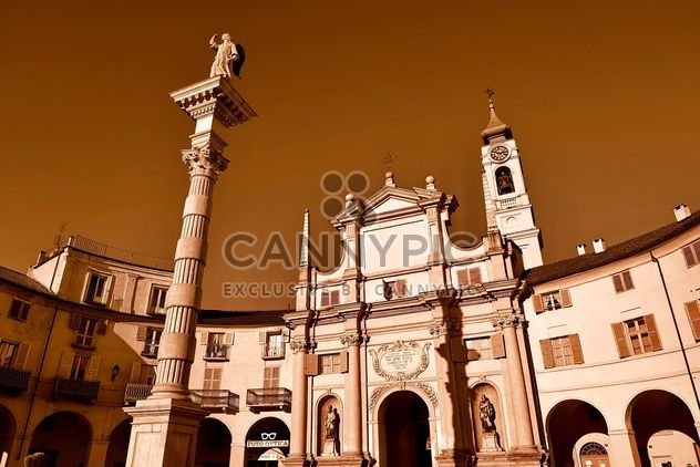 Architecture of italian church - Free image #334713