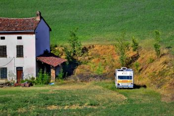 View on Monferrato village in Piemonte - image #334763 gratis