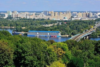 The views of the Dnipro and left shore of Kiev - Kostenloses image #335073