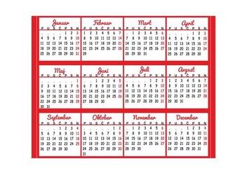 Calendar 2016 Vector - Kostenloses vector #335143