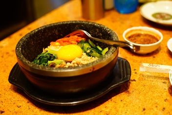 Korean spicy meal - image gratuit #335203