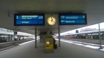 Hannover Central Train Station in Hannover - бесплатный image #335233