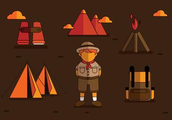 Boy Scouts Vectors - Kostenloses vector #335563
