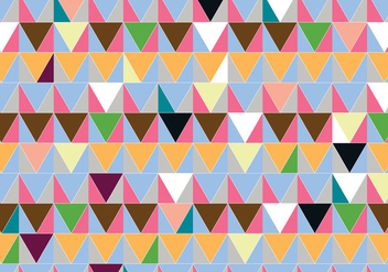 Abstract Triangle Pattern Background - vector gratuit #335613