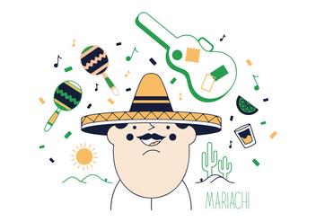 Free Mariachi Vector - vector gratuit #337023