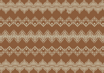 Lace Trim Vector - vector #337633 gratis
