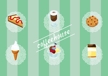 Free Set of Coffee House Vector Elements - бесплатный vector #337743