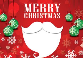 Creative christmas Santa - Free vector #337753