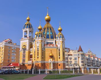 Orthodox Church in Obolon district - Free image #338233
