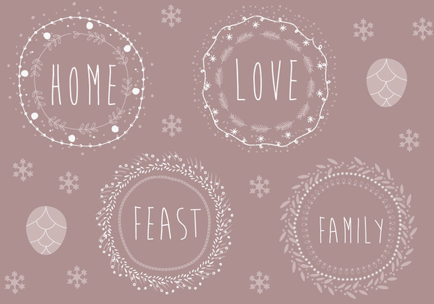 Free Christmas Background Illustration - Free vector #338413