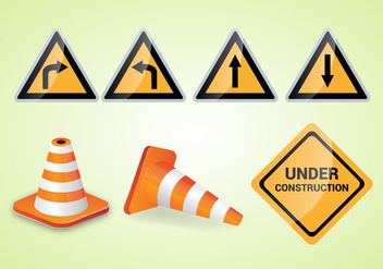 Free Traffic Cone Vector - Free vector #338733