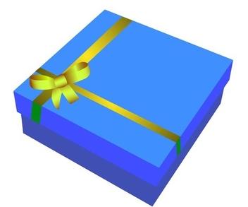 Gift box - Free vector #338893