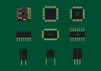 Microchip Vector - Kostenloses vector #339353