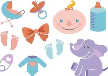 Free Baby Vectors - Free vector #339473