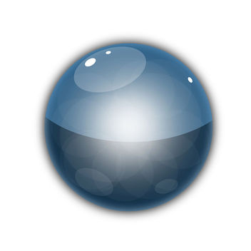 Glossy Vector Orb - Free vector #340643